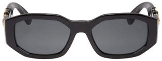 Versace Black Medusa Biggie Sunglasses