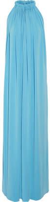 By Malene Birger Nannio Stretch-crepe Maxi Dress - Blue
