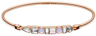 Fossil Heritage Shapes Rose Gold-Tone Stainless Steel Bangle jewelry ROSE GOLD