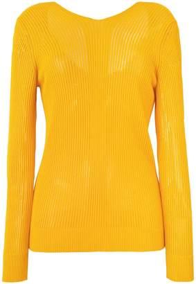 Maison Margiela ribbed knit sweater