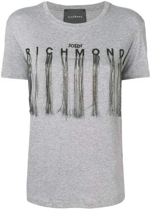 John Richmond bead logo T-shirt