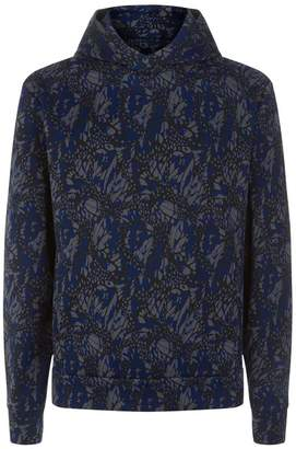 Emporio Armani Abstract Hoodie