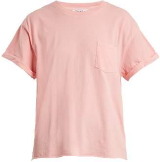 Frame Patch-pocket cotton-jersey T-shirt