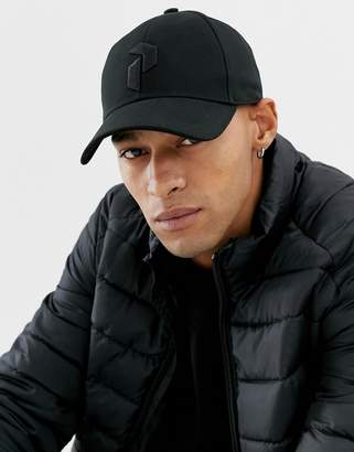 Peak Performance Retro Cap In Black