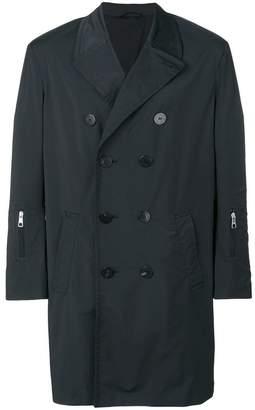 Neil Barrett zip detail trench coat