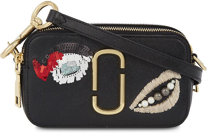 Marc JacobsMARC JACOBS Plus Size Vintage Collage Snapshot leather bag