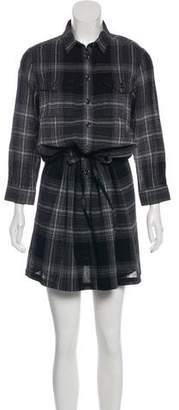 Burberry Plaid Knee-Length Dress