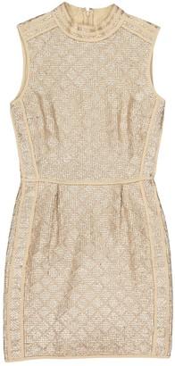 Hoss Intropia Gold Viscose Dresses