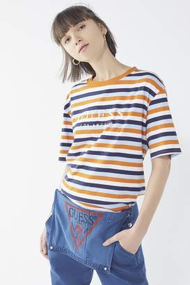 GUESS + UO Striped Logo Tee