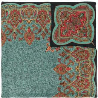 Etro paisley detail scarf