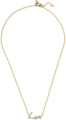 Stephen Webster Tracey Emin Love 18-karat Gold Diamond Necklace