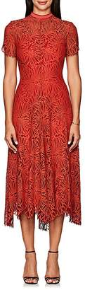 Proenza Schouler Women's Floral Lace Midi-Dress