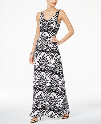 Inc International Concepts Printed Maxi Dress, Created for Macy's $89.50 thestylecure.com