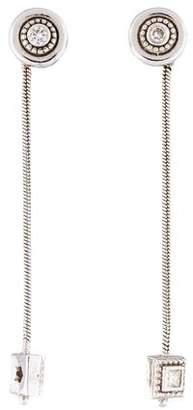 H.Stern 18K Diamond Drop Earrings