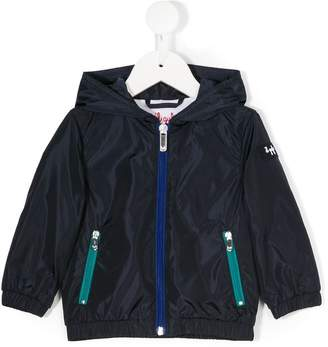 Il Gufo hooded zipped jacket