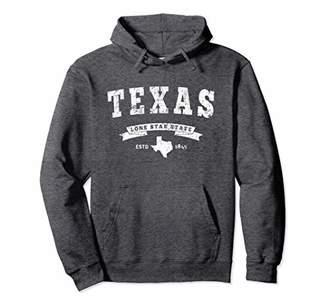 Texas Hoodie. Vintage Texas Sweatshirt Retro TN