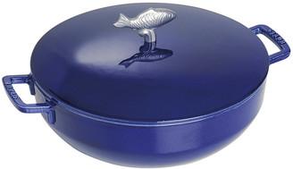 Staub Dark Blue Bouillabaisse Pot - 28cm