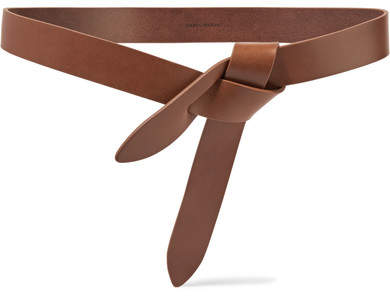 Isabel Marant - Lecce Leather Belt - Chocolate