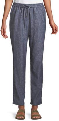 Masai Pemmy Linen Herringbone Trousers