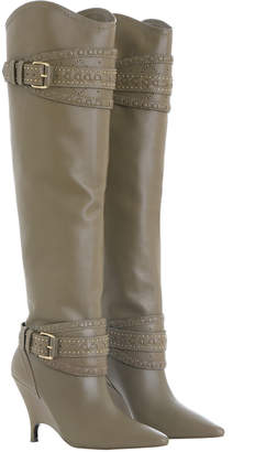 Slouch Knee Boot