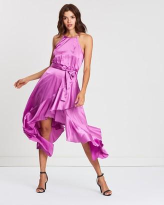 Atmos & Here Christina Ruffle Hem Dress