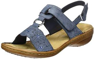... Rieker Women s 60843 Closed Toe Sandals dd219b1784