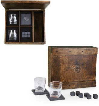 Legacy Whiskey Box Gift Set With Tennessee Titans Laser Engraving