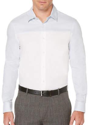 Perry Ellis Colourblock Woven Shirt