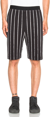 Issey Miyake Homme Plisse Flags Shorts $405 thestylecure.com