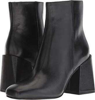 Nine West Women's APPHAPPY Leather Ankle Boot
