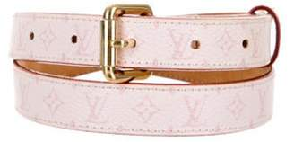 Louis Vuitton Monogram Skinny Belt Pink Monogram Skinny Belt