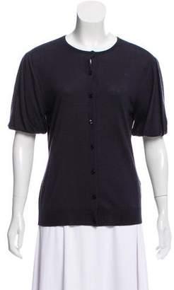 Ralph Lauren Cashmere Short Sleeve Cardigan