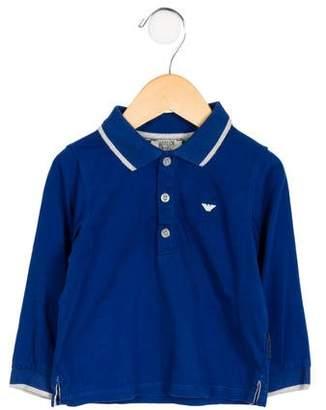 Giorgio Armani Baby Boys' Long Sleeve Shirt