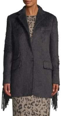 Max Mara Manico Virgin Wool& Alpaca Trench Coat