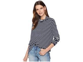 Pendleton Stripe Jersey Turtleneck Women's Clothing