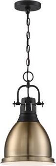 Breakwater Bay Clairview 1-Light Lantern Bell Pendant Breakwater Bay