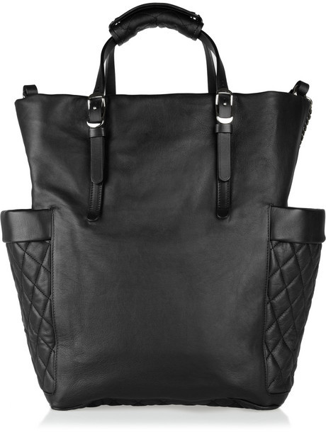 Jimmy Choo Blare chain-embellished leather tote