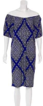MICHAEL Michael Kors Short Sleeve Printed Dress