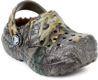 Crocs Toddler Boys Lined Realtree Xtra Clogs