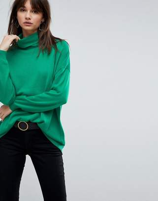 Asos Oversized Sweater with Slouchy Neck