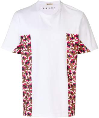 Marni contrast panel T-shirt