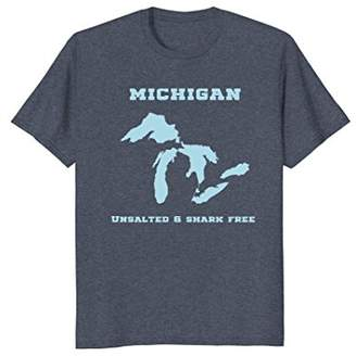 Great Lakes Unsalted and Shark Free Tshirt