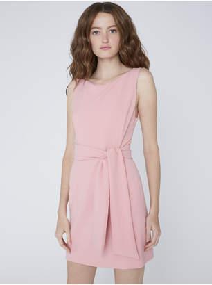 Alice + Olivia VIRGIL BOAT NECK MINI DRESS