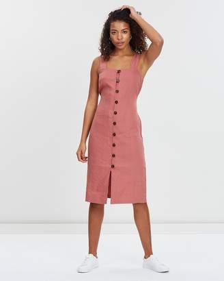 Jag Mina Button-Up Dress