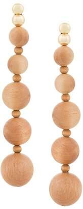 Cult Gaia Natural Kai earrings