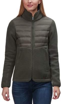 Herschel Supply Hybrid Sherpa Full-Zip Jacket - Women's