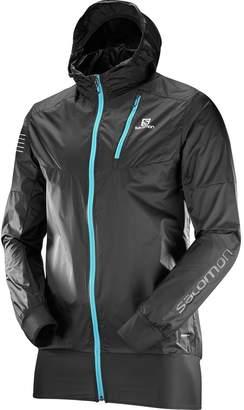 Salomon Fast Wing Hybrid Hooded Jacket - Men's