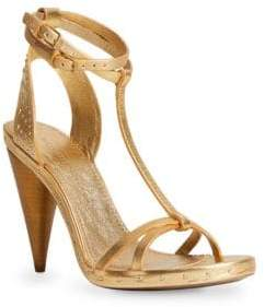 Burberry Hans Leather High Heel Sandals