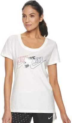 Nike Women's Triple Logo Graphic Tee