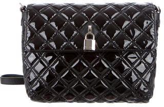 Marc Jacobs Marc Jacobs Quilted Patent Leather Shoulder Bag